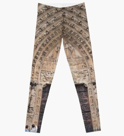 In Homage of Paris Notre-Dame Cathedral - Love wins in the end! Leggings
