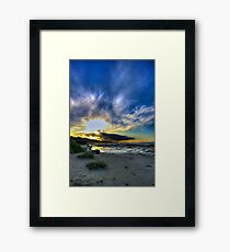 The end of Oz Framed Print