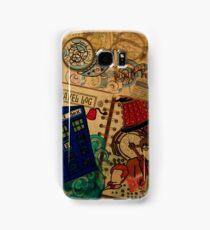 Doctor Who Travel Log  Samsung Galaxy Case/Skin