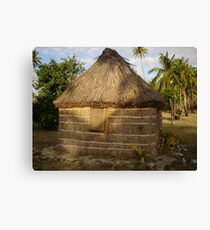 Our House in Fiji Canvas Print