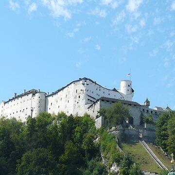 Salzburg Castle by smallan