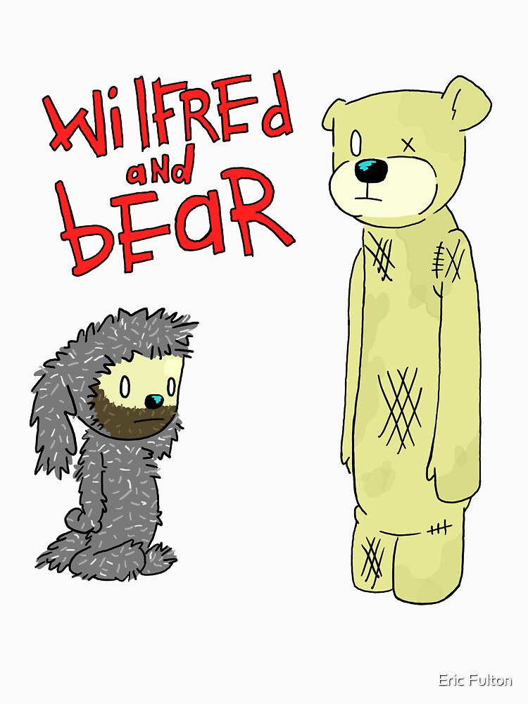 wilfred and bear by tatertotz97