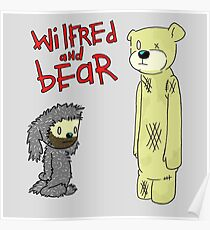 wilfred and bear Poster
