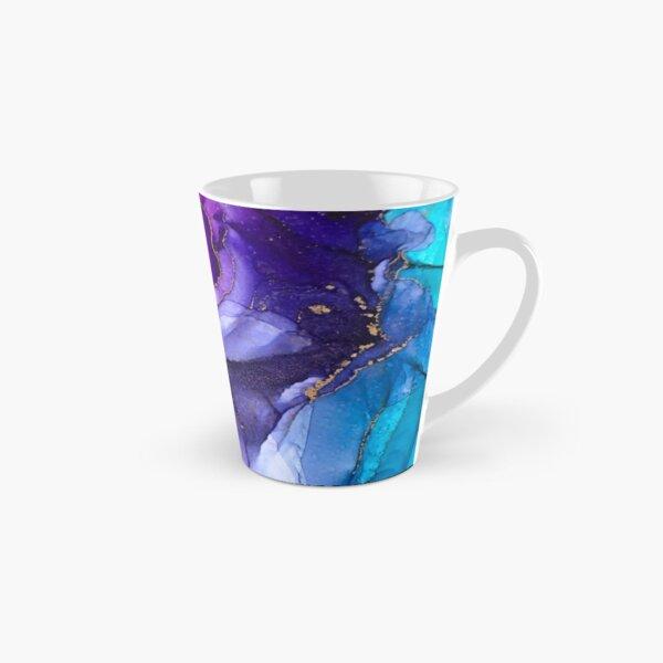 Abstract Vibrant Rainbow Ombre Tall Mug