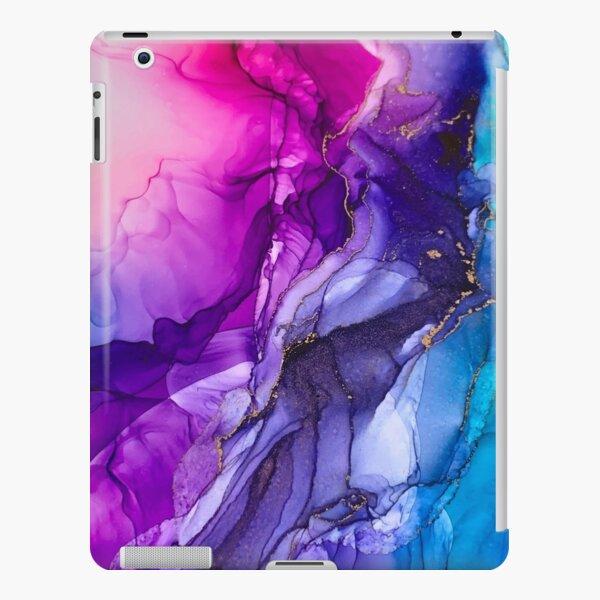 Abstract Vibrant Rainbow Ombre iPad Snap Case