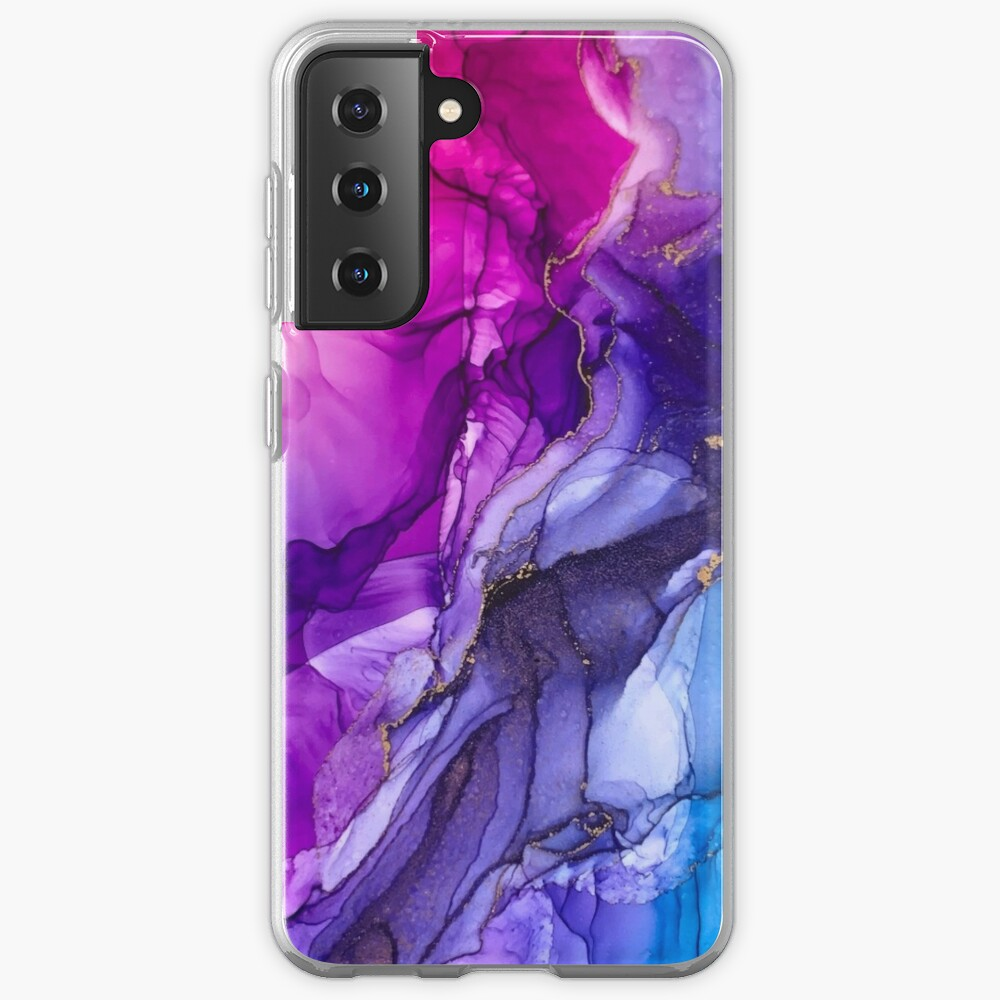 Abstract Vibrant Rainbow Ombre Case & Skin for Samsung Galaxy
