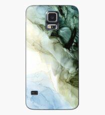 Funda/vinilo para Samsung Galaxy Tierra y cielo abstracto paisaje pintura