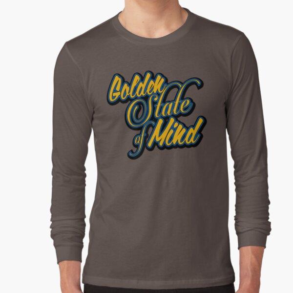Golden State of Mind Script Long Sleeve T-Shirt
