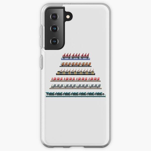 Kennywood Coaster Trains Design Samsung Galaxy Soft Case