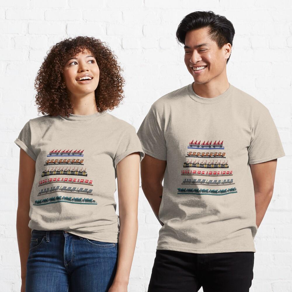 Kennywood Coaster Trains Design Classic T-Shirt