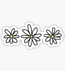 Tumblr Gänseblümchenblume Sticker