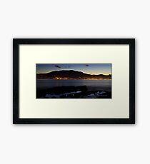 Across the Water Framed Print