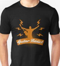 Camiseta ajustada Adicto a la guitarra de regalo
