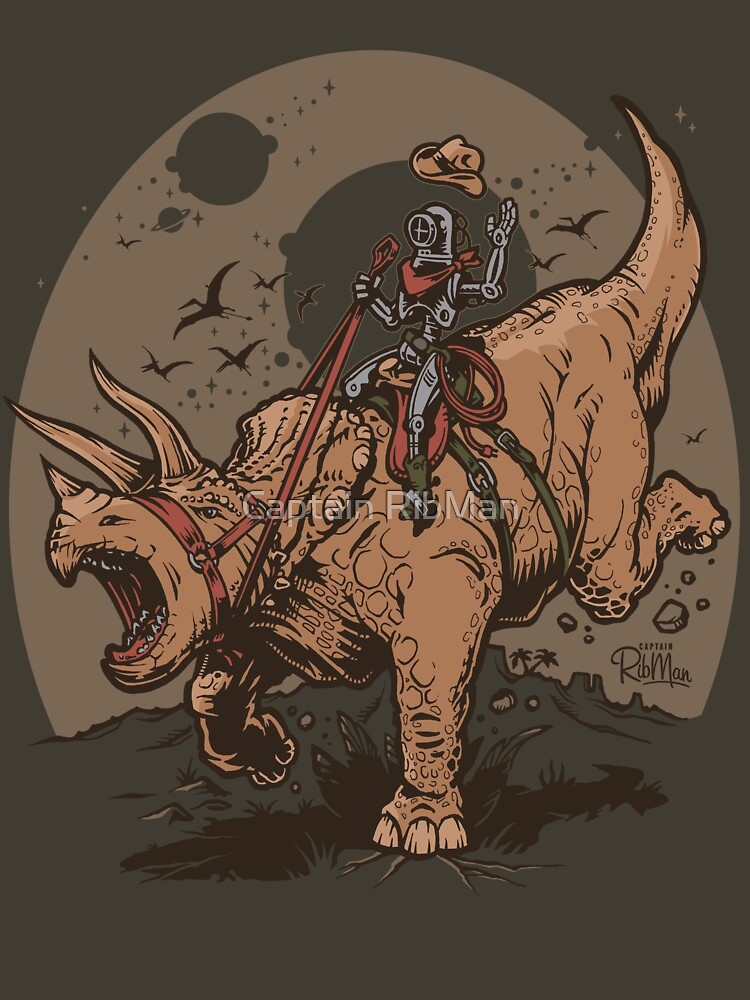 Triceratops CowBot | Unisex T-Shirt