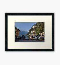 Early Morning At Riva Framed Print