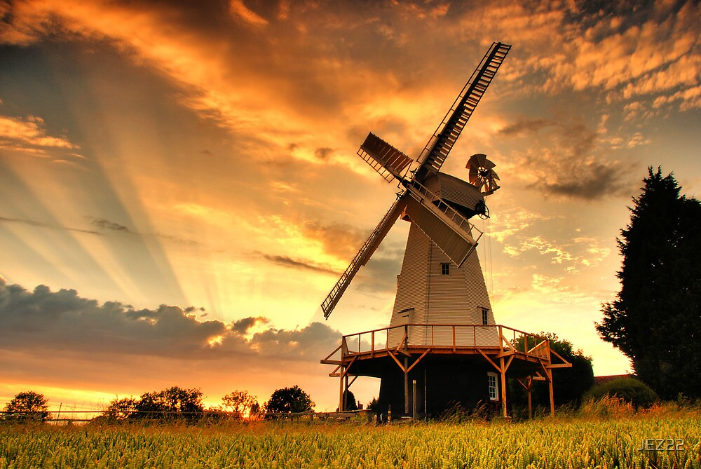 The Windmill by JEZ22