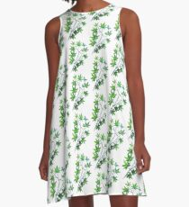 Maple Leaf Dance A-Line Dress