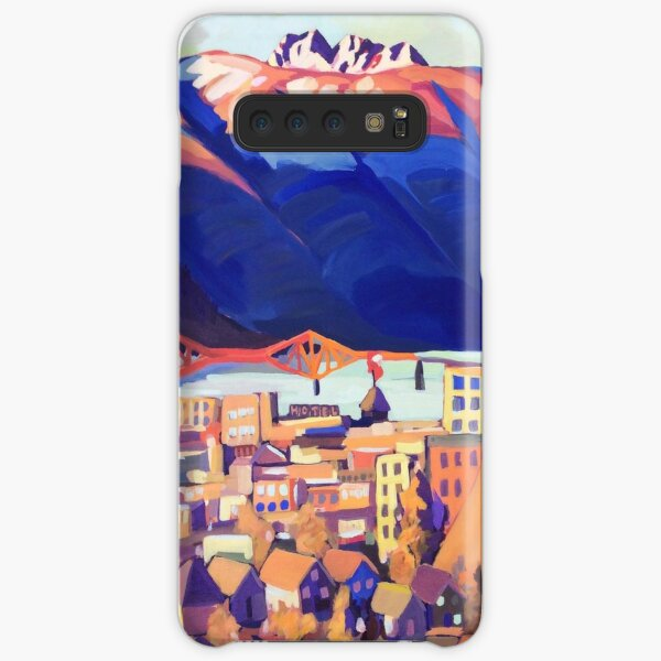 Sunset over Nelson Samsung Galaxy Snap Case