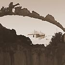 A glimpse (Kolmanskop: Namibia)   by AnniG