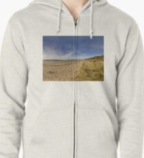 Lisfannon Beach, Fahan, County Donegal, Equirectangular  Zipped Hoodie