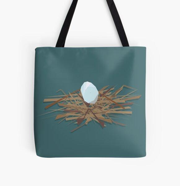 Kererū Nest All Over Print Tote Bag