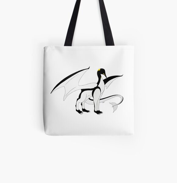 The Penguin-Dragon (Lastest evolution) All Over Print Tote Bag