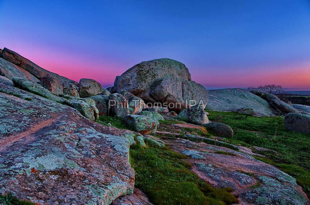 """""""Dawn At The Rocks"""" by Phil Thomson IPA"""