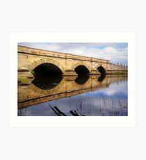 Ross Bridge Art Print
