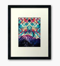 sky tile Framed Print