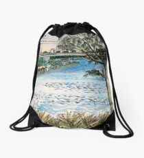 The Canning from Shelley Drawstring Bag