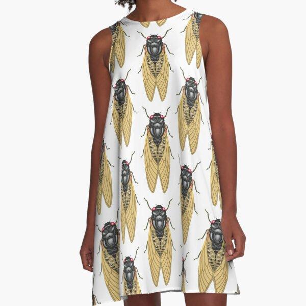 Cicada A-Line Dress