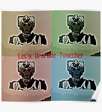 Let's upgrade together Poster