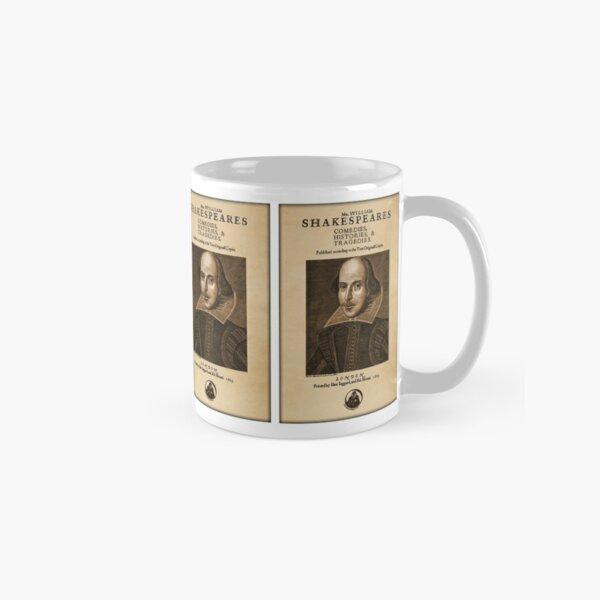 Shakespeare First Folio Front Piece Classic Mug