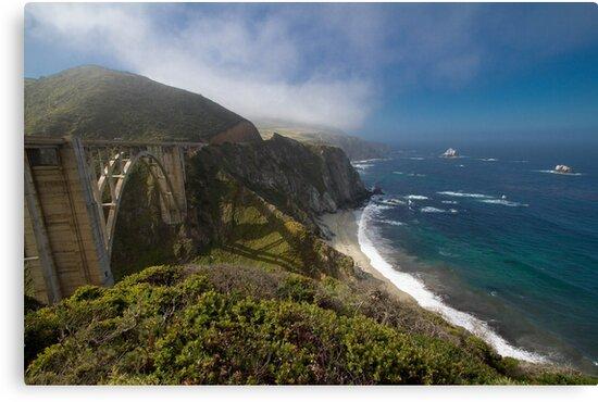 Highway 1, Big Sur, California USA by geoff curtis