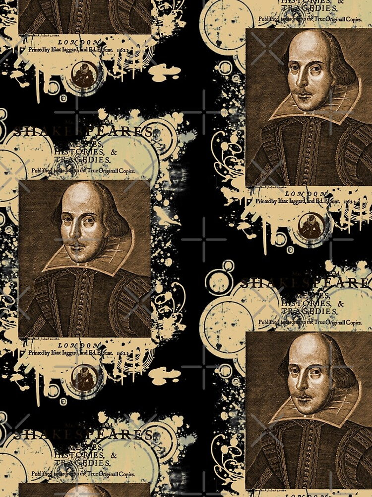 Shakespeare First Folio Front Piece by incognitagal