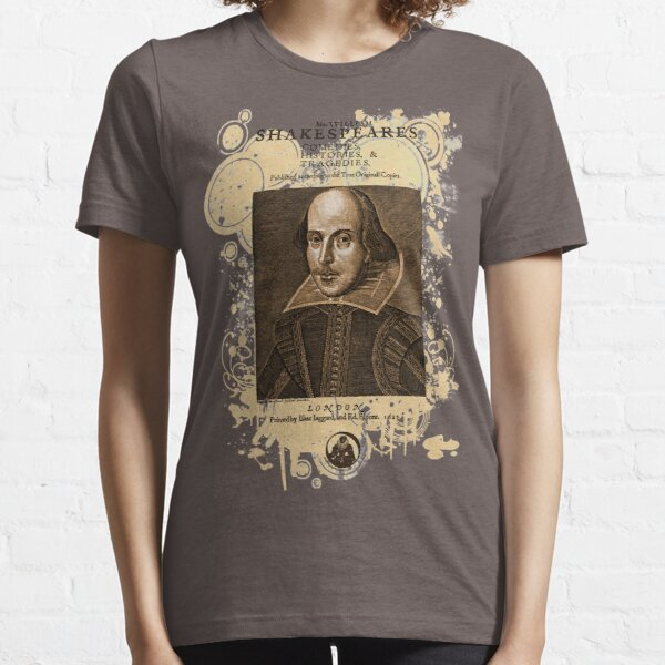 Shakespeare First Folio Front Piece Essential T-Shirt