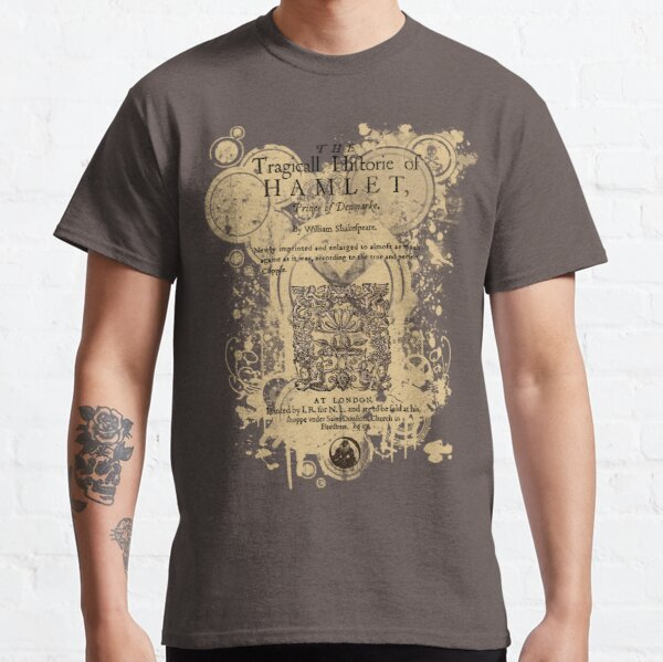 Shakespeare's Hamlet Front Piece Classic T-Shirt