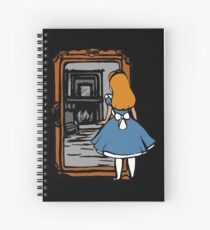 Alice - Through The Looking Glass Spiral Notebook
