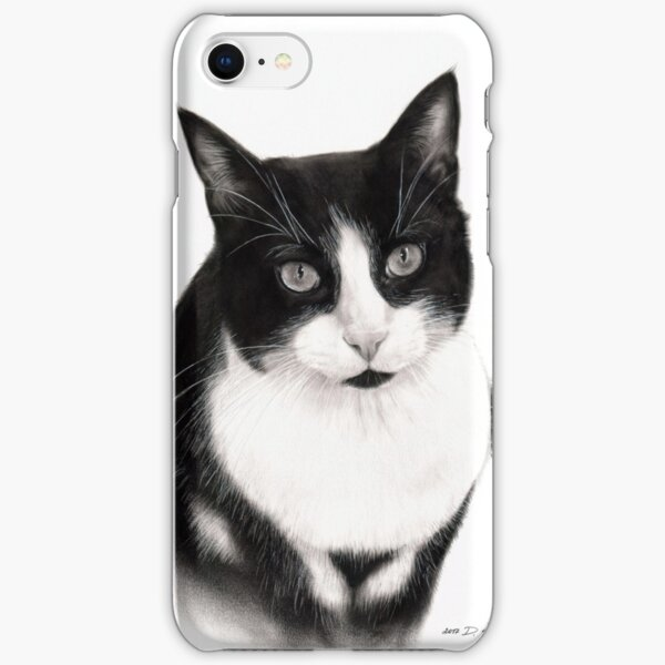 Tuxedo Cat iPhone Snap Case