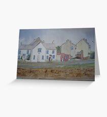 Cappa village, Kilrush, Co.Clare Greeting Card