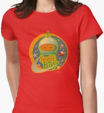 Space Boy! Womens Fitted T-Shirt