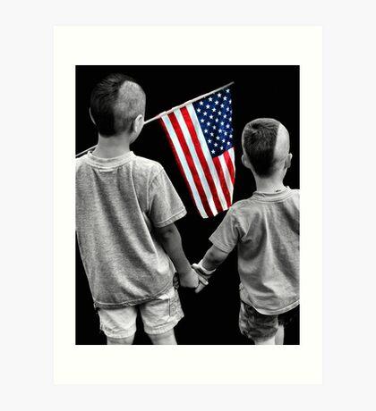 American Boys Art Print