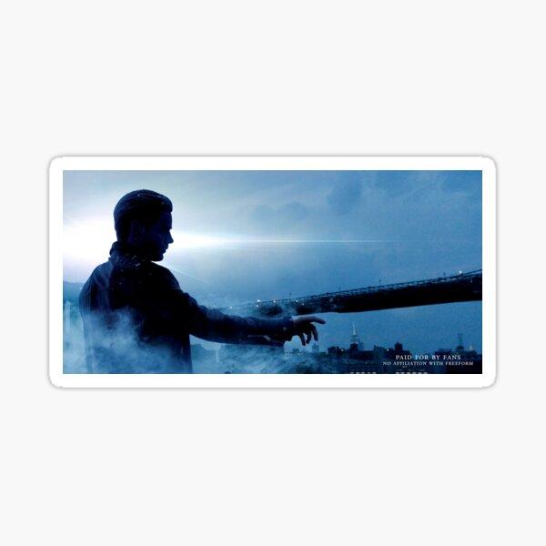 Save Shadowhunters - IconicNephilim NYC Billboard Design - Jace Sticker