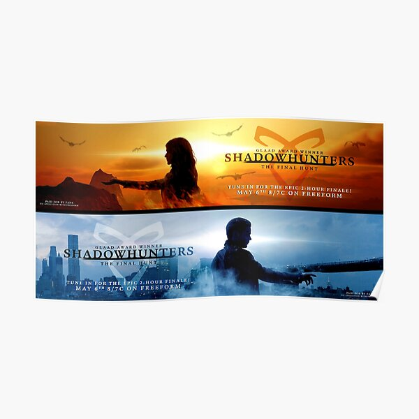 Save Shadowhunters - IconicNephilim NYC Billboard Design - Middle Poster