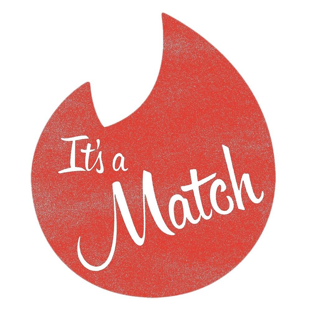 Its a Match - Tinder logo by DutchMasterKLR | Redbubble