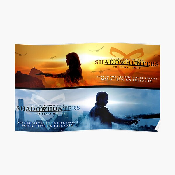 Save Shadowhunters - IconicNephilim NYC Billboard Design - Short SIde Poster