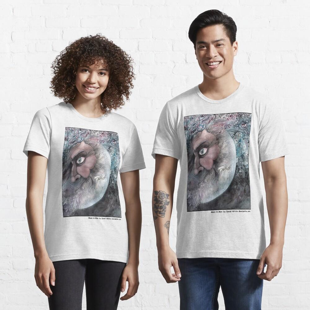 Moon In Man Essential T-Shirt