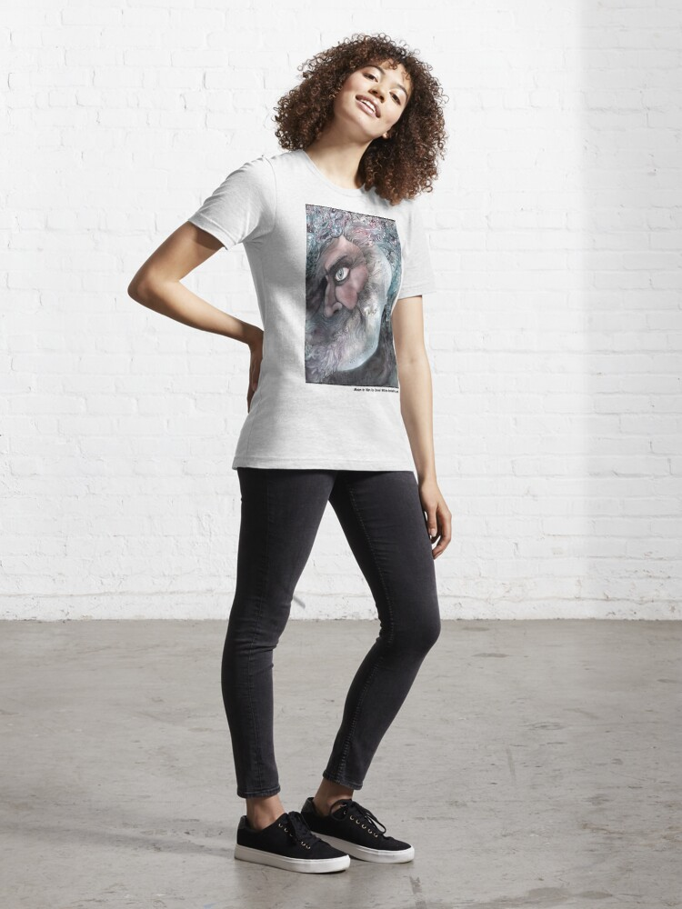 Alternate view of Moon In Man Essential T-Shirt