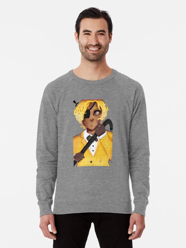 'Human Bill Cipher-Gravity Falls 2' Lightweight Sweatshirt by ChiderahN