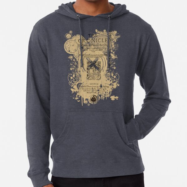 Shakespeare's Henry V Front Piece Lightweight Hoodie